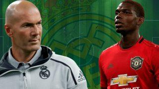 Pogba, un viejo objetivo de Zidane para el Real Madrid.