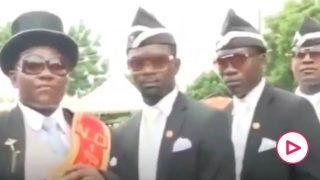 Futre provoca a los madridistas con su particular versión del vídeo de los africanos del ataúd.