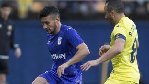 Óscar Rodríguez, ante el Villarreal (EFE).