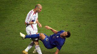 El histórico cabezazo de Zidane a Materazzi. (AFP)