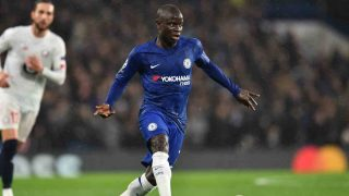 N'Golo Kanté con el Chelsea. (AFP)
