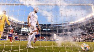 Sergio Ramos, en el derbi de 2019 de la International Champions Cup. (AFP)