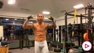 Sergio Ramos gimnasio