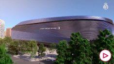 El Real Madrid enseña como será el espectacular Santiago Bernabéu del futuro.