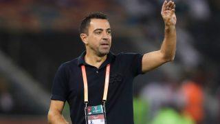 Xavi Hernández durante un partido del Al-Sadd. (AFP)