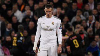 Gareth Bale, durante un partido del Real Madrid (AFP).