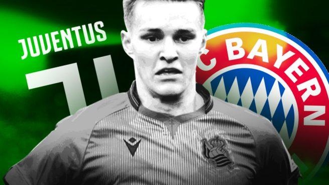 Juventus y Bayern tientan a Odegaard