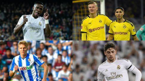El Real Madrid podría formar un once plagado de jugadores sub-21.