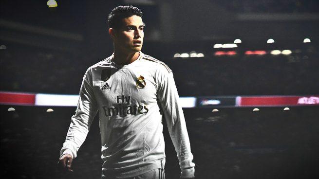 James Rodríguez busca un sitio en la Premier League