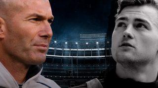 Zidane da el visto bueno al fichaje de De Ligt.