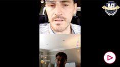 Casillas y Míchel charlaron por Instagram.