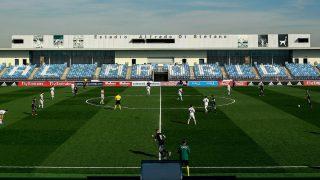 El Di Stéfano, en un partido de Youth League(Getty).