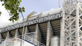 Obras en el Santiago Bernabéu (Enrique Falcón).