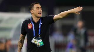 Fabio Cannavaro, entrenando al Guangzhou Evergrande. (Getty)