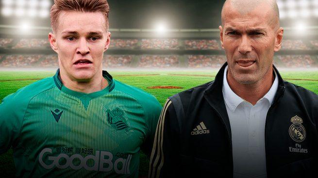 Sólo Zidane puede parar el 'fichaje' de Odegaard