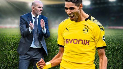 Zidane quería la vuelta de Achraf.