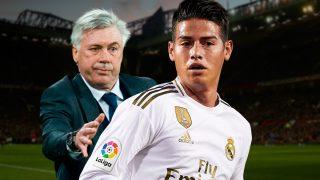James Rodríguez, a punto de volver con Ancelotti.