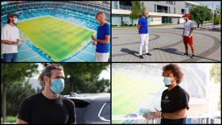 Así fue la vuelta al trabajo del Real Madrid. (realmadrid.com)