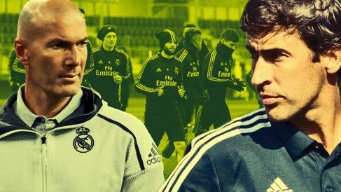 Zidane y Raúl tienen trabajo por delante.