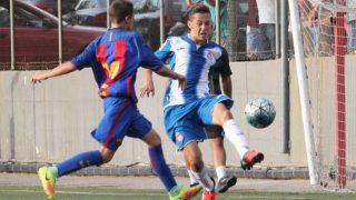 Kenneth Soler, en un partido ante el Barcelona.