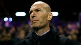 Zinedine Zidane, en un partido.