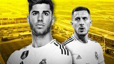 Asensio y Hazard, dos 'fichajes' para Zidane.