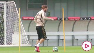El Real Madrid volvió a los entrenamientos tras 60 días de cuarentena. (realmadrid.com)