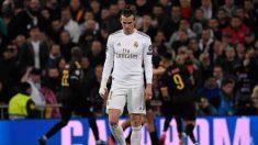 Gareth Bale frente al Manchester City. (AFP)