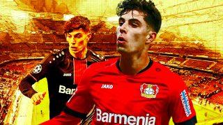 Havertz, futura estrella del fútbol europeo.