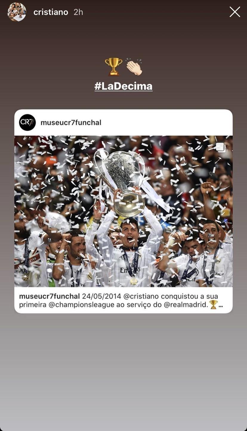 Cristiano Ronaldo décima