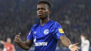 Rabi Matondo, en un partido con el Schalke. (AFP)