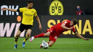 Achraf no tuvo su día contra el Bayern. (Getty)
