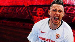 El Sevilla escucha ofertas por Ocampos.