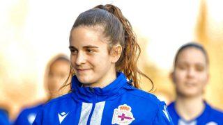 Teresa Abelleira. (@rcdeportivo)