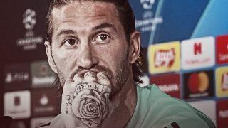 Sergio Ramos, en una rueda de prensa.