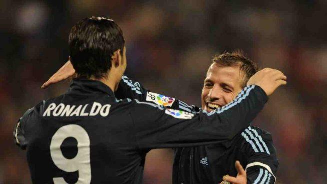Ronaldo y Van der Vaart