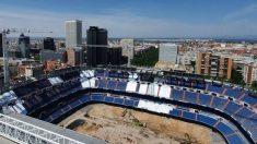 El Santiago Bernabéu continúa sus obras a ritmo vertiginoso. (nuevoestadiobernabeu.com)