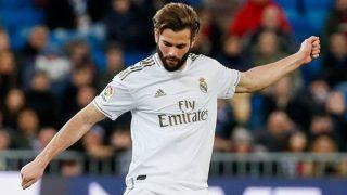 Nacho durante un partido con el Real Madrid esta temporada. (realmadrid.com)