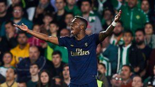 Vinicius, durante el Betis – Real Madrid (Getty).