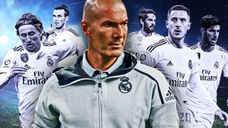 Zidane tendrá que 'sacrificar' a varios pesos pesados.