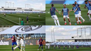 Así fue el primer partido en el Di Stéfano.