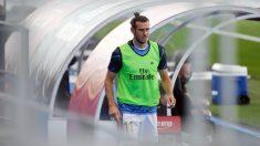 Bale, durante el Real Madrid – Eibar. (AFP)