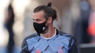 Bale, durante el partido ante el Eibar (Getty).
