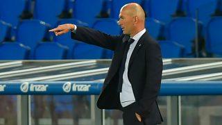 Zidane durante un partido. (AFP)