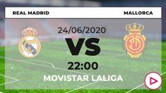 Real Madrid-Mallorca: dónde ver y horario del partido de hoy de Liga Santander por TV online en directo.