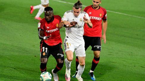 Bale, durante un partido ante el Mallorca. (AFP)