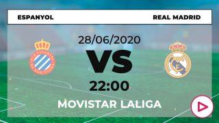 horario Espanyol Real Madrid