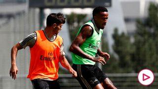 Entrenamiento del Real Madrid. (Foto: Real Madrid)