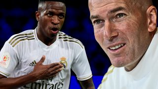 Zidane no utilizó a Vinicius ante el Betis.
