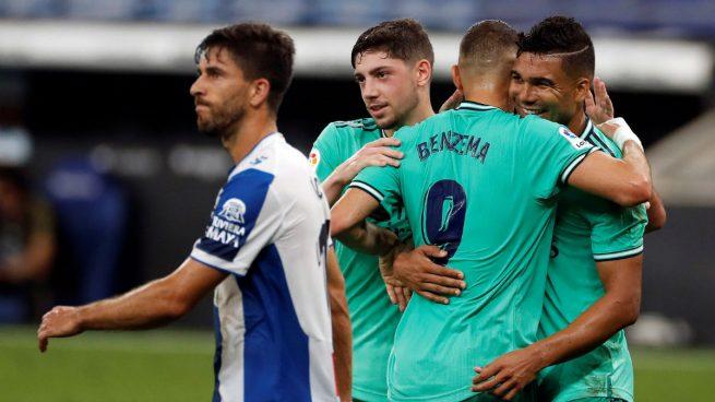 Casemiro: «El gol es de Benzema, el taconazo ha sido increíble»